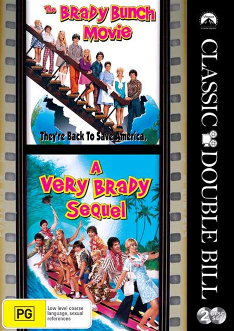 Brady Bunch Movie / A Very Brady Sequel - Franchise Pack, The | DVD