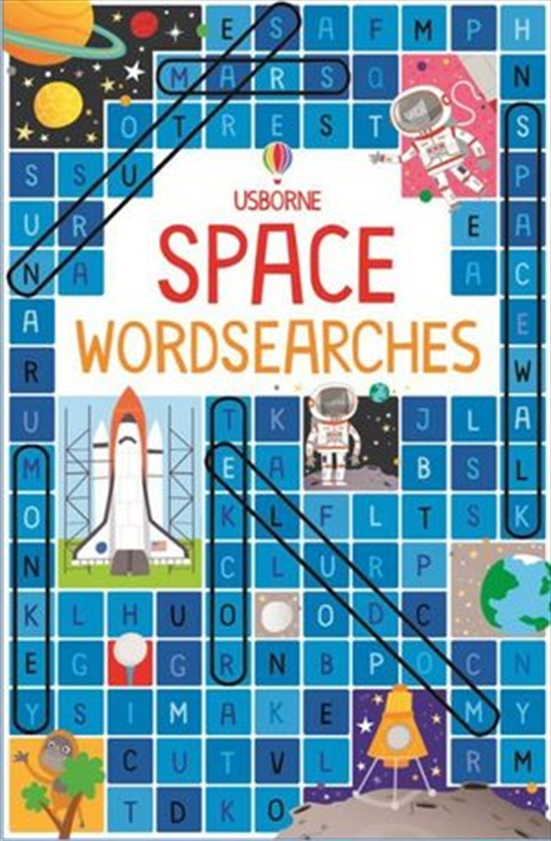 Space Wordsearches | Paperback Book
