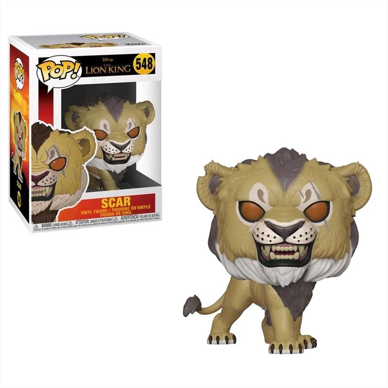 Lion King (2019) - Scar Pop! Vinyl | Pop Vinyl