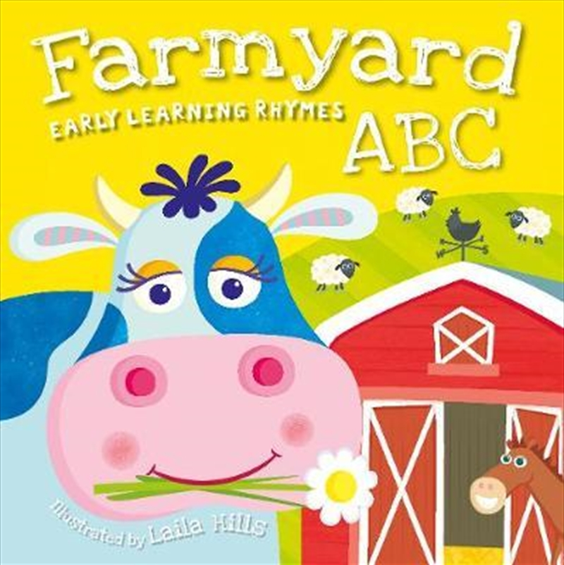 Farmyard ABC | Board Book