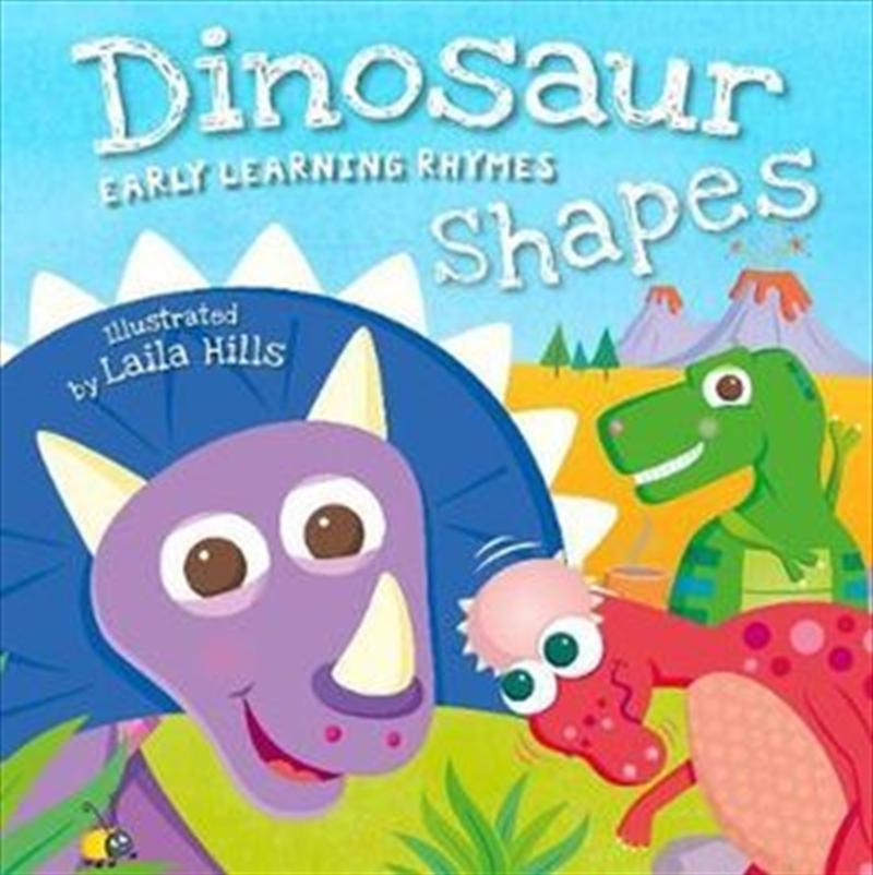 Dinosaur Shapes   Board Book