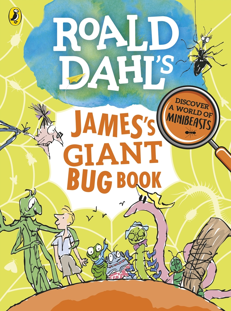 Roald Dahls James Giant Bug Book | Paperback Book