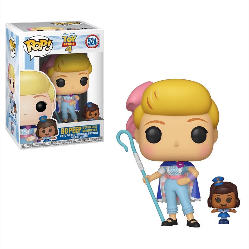 Toy Story 4 - Bo Peep & Officer McDimples Pop! Vinyl | Pop Vinyl