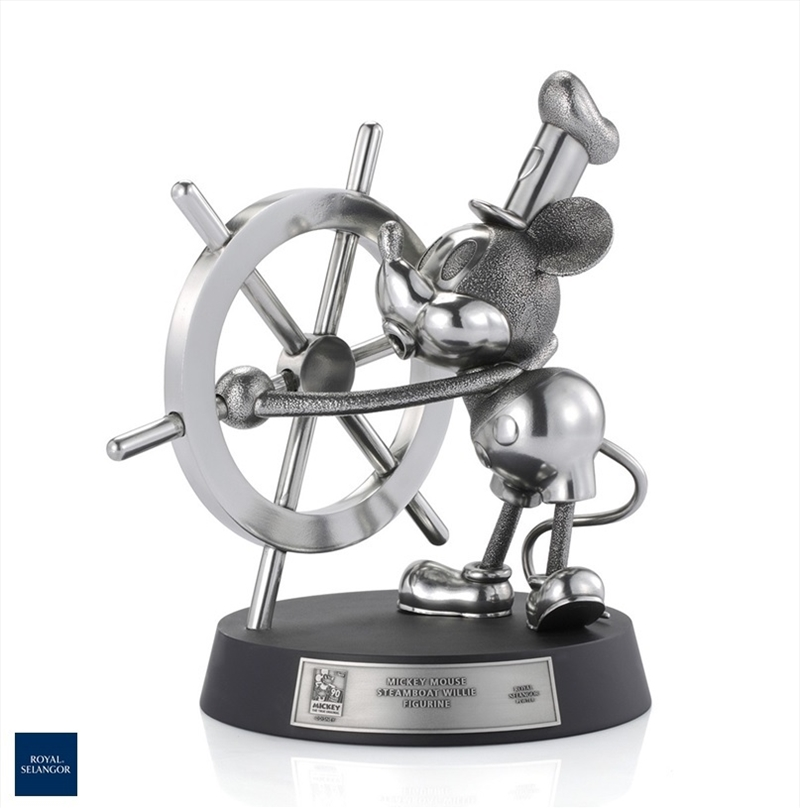 Limited Edition Mickey Mouse Steamboat Willie Figurine | Merchandise