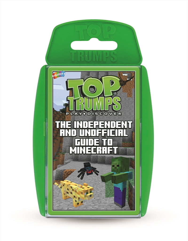 Top Trumps: Unofficial Guide To Minecraft | Merchandise