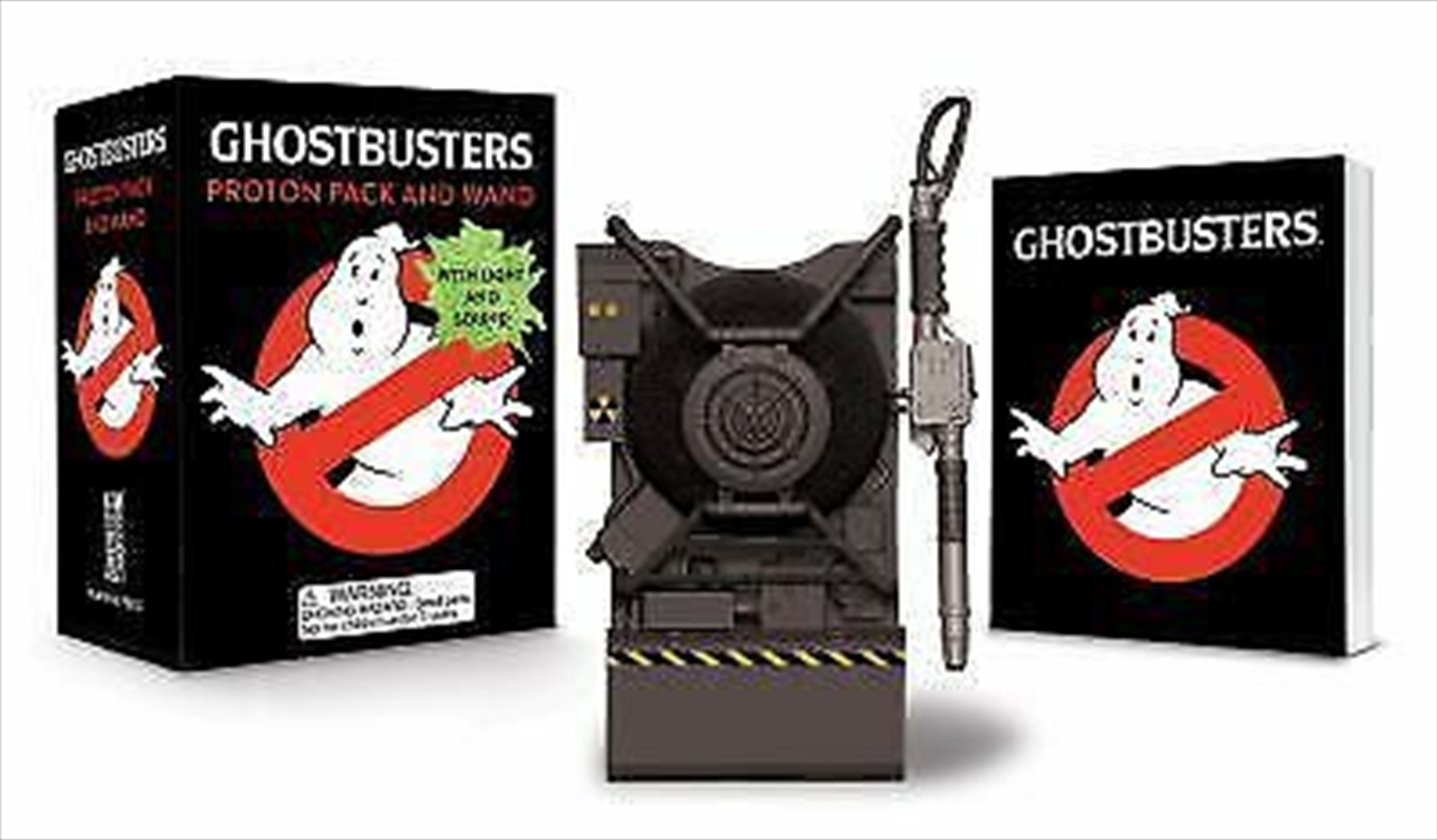 Ghostbusters: Proton Pack and Wand | Merchandise