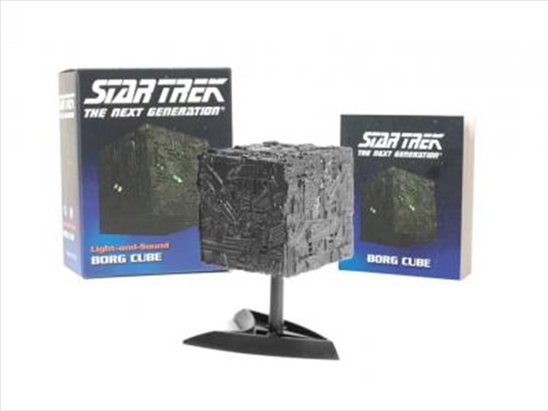 Star Trek: Light-and-Sound Borg Cube | Merchandise