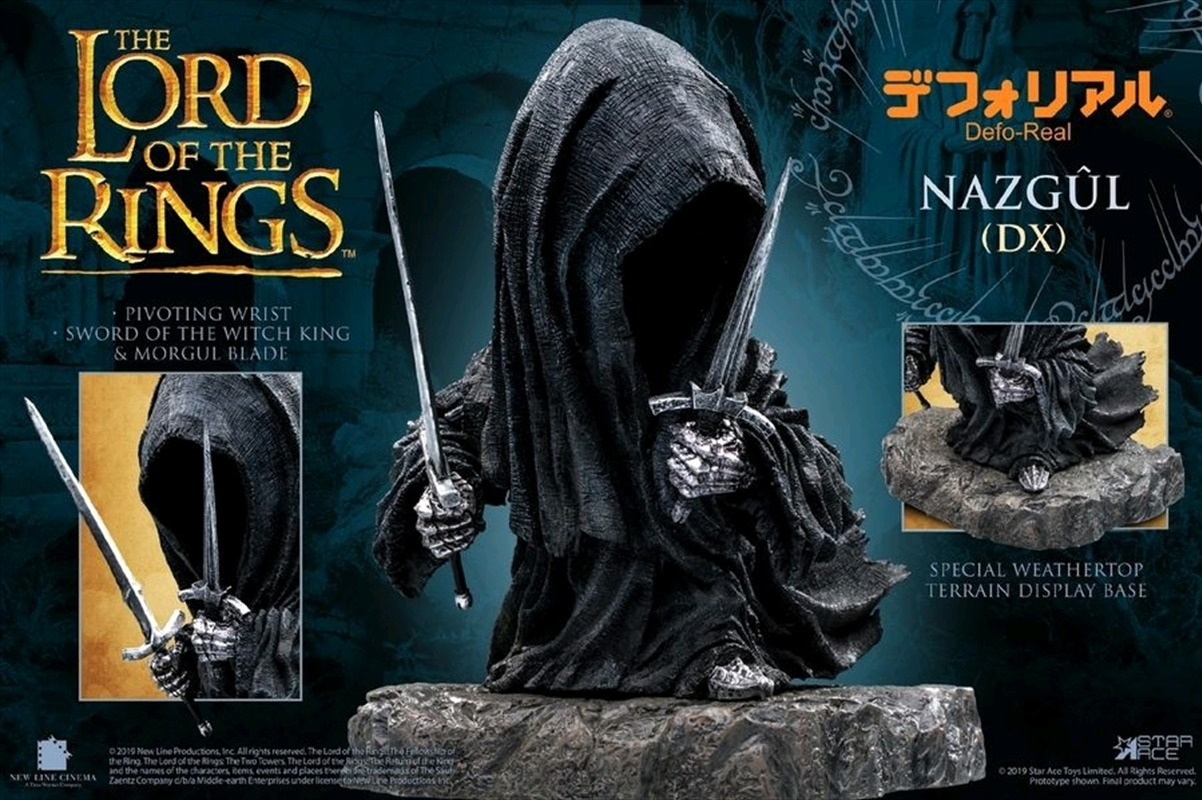 Lord of the Rings - Nazgul Deluxe Soft Vinyl Figure | Merchandise