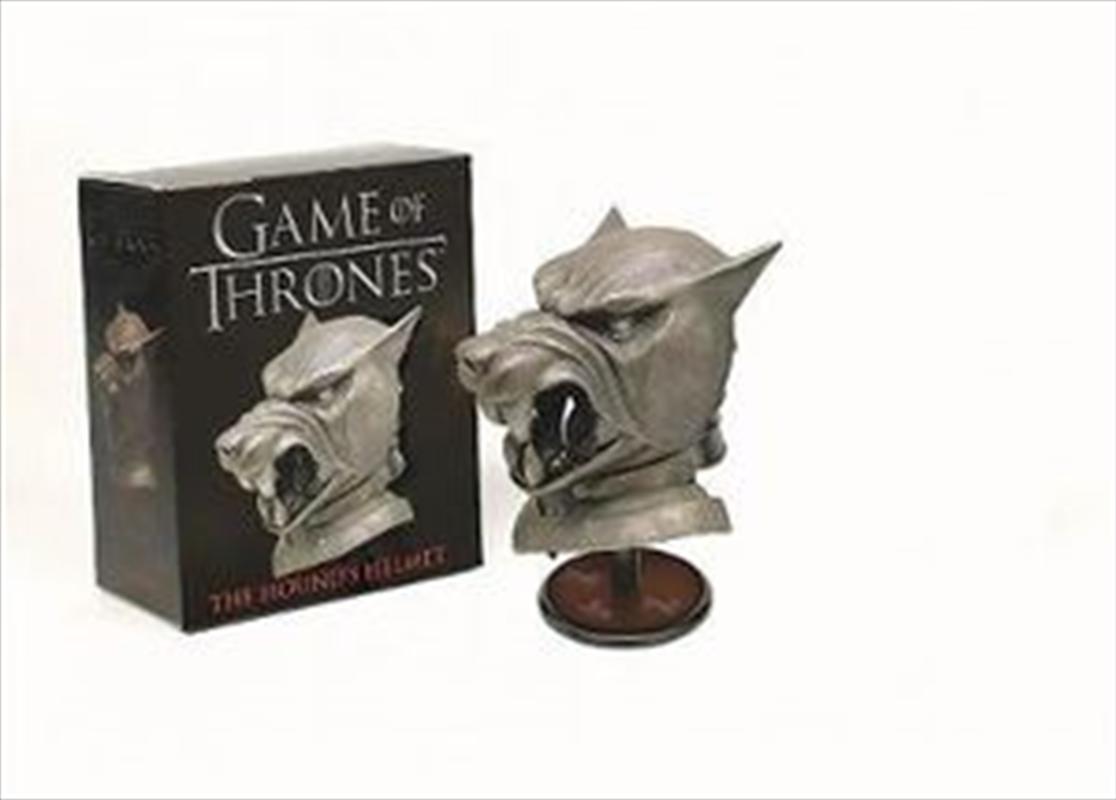 Game of Thrones: The Hound's Helmet | Merchandise