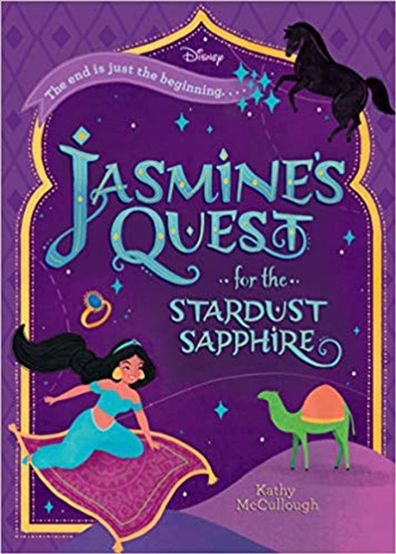 Disney Aladdin: Jasmine s Quest for the Stardust Sapphire | Paperback Book