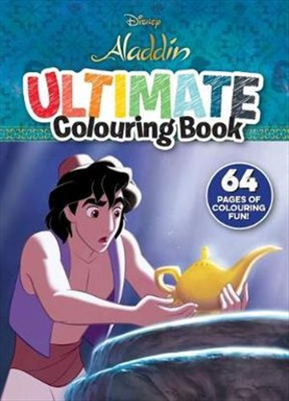 Disney Aladdin: Ultimate Colouring   Paperback Book