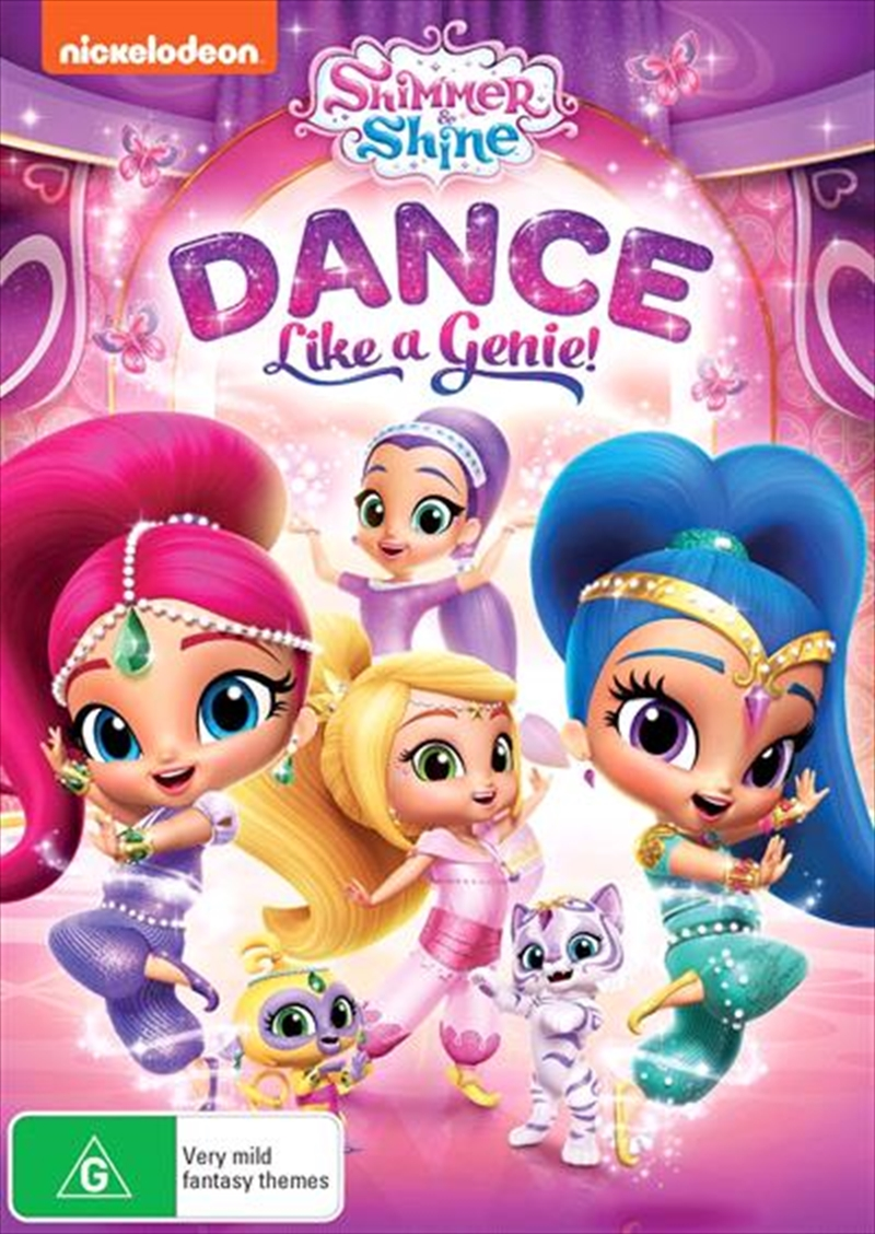 Shimmer And Shine - Dance Like A Genie | DVD