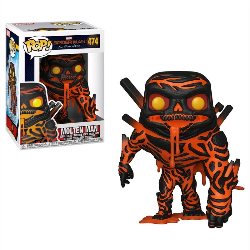 Spider-Man: Far From Home - Molten Man Pop! Vinyl | Pop Vinyl