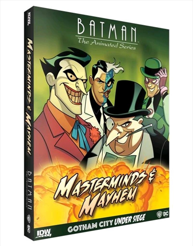 Batman: The Animated Series - Gotham Under Seige: Masterminds & Mayhem Expansion | Merchandise