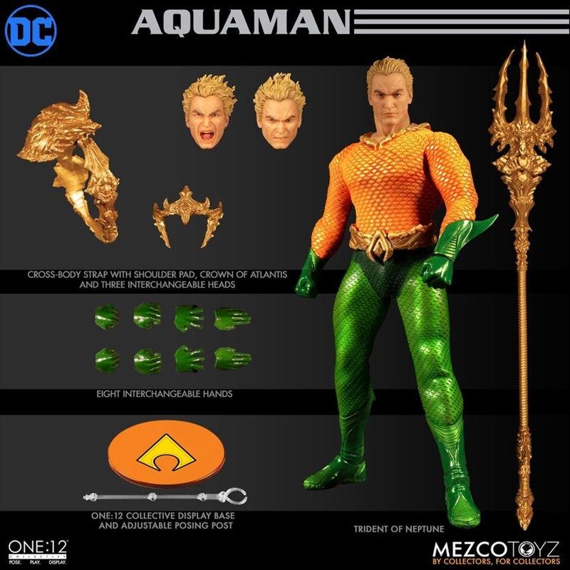 Aquaman - Aquaman One:12 Collective Action Figure | Merchandise
