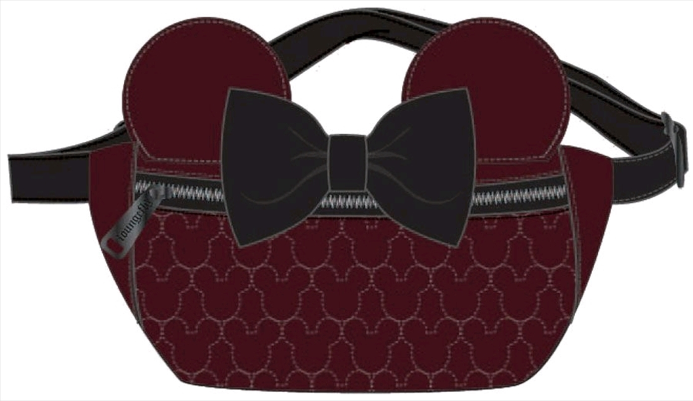 Mickey Mouse - Brown with Bow & Ears Bum Bag | Apparel