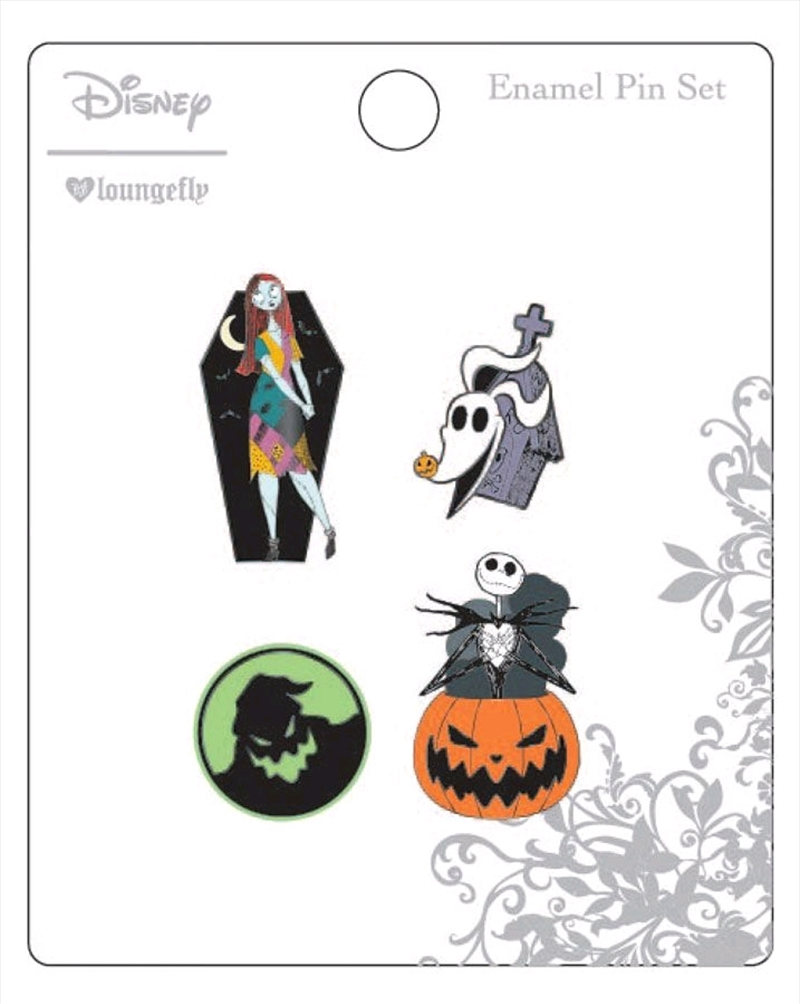 A Nightmare Before Christmas - Enamel Pin 4pk | Merchandise