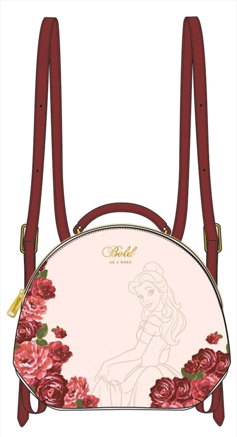 Beauty and the Beast - Bold as a Rose Mini Backpack | Apparel