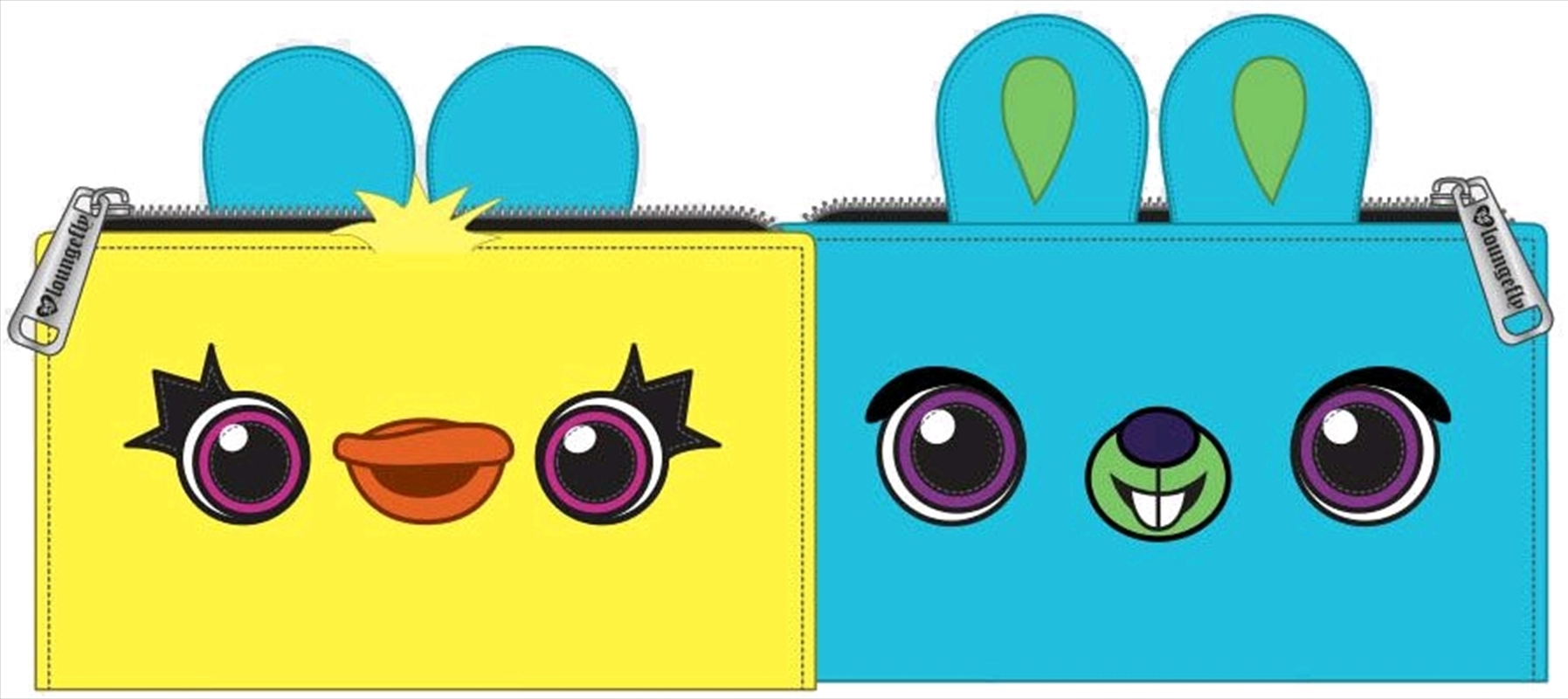 Toy Story 4 - Ducky / Bunny Wallet   Apparel