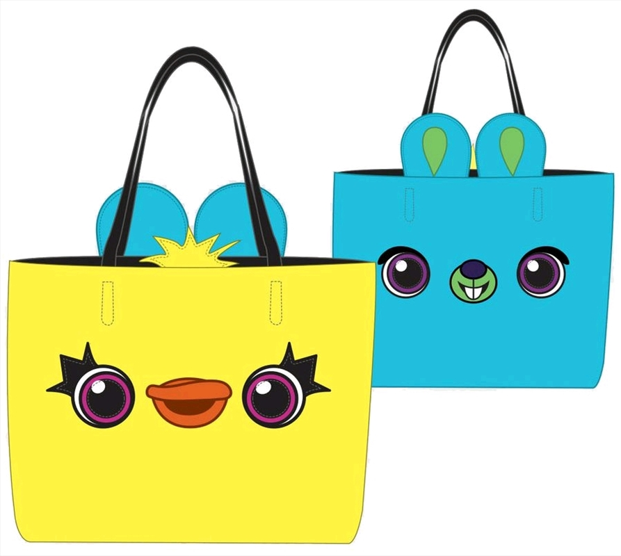 Toy Story 4 - Ducky / Bunny Tote Bag | Apparel