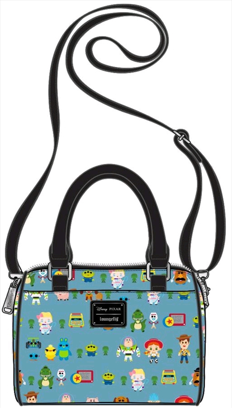 Toy Story 4 - Chibi Print Duffle Bag | Apparel