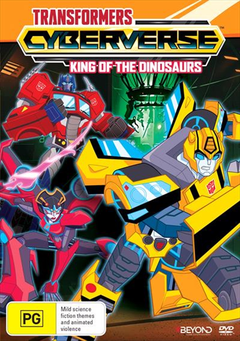 Transformers Cyberverse - King Of The Dinosaurs | DVD