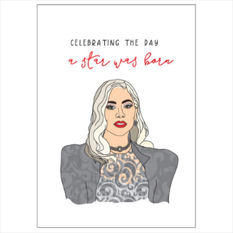 Birthday Card - Celebrating A Star | Merchandise