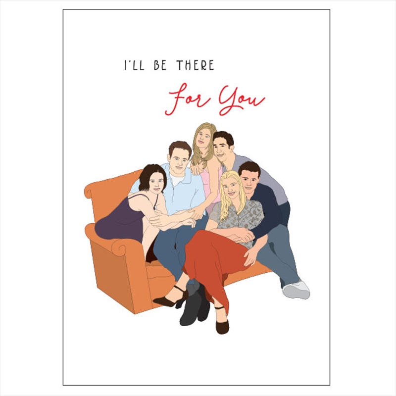 Birthday Card - There For You | Merchandise