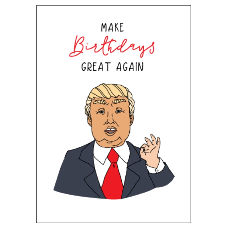 Birthday Card - Make Birthdays Great | Merchandise