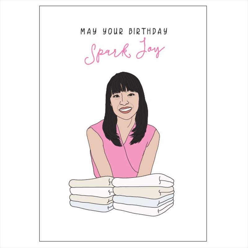 Birthday Card - Spark Joy | Merchandise