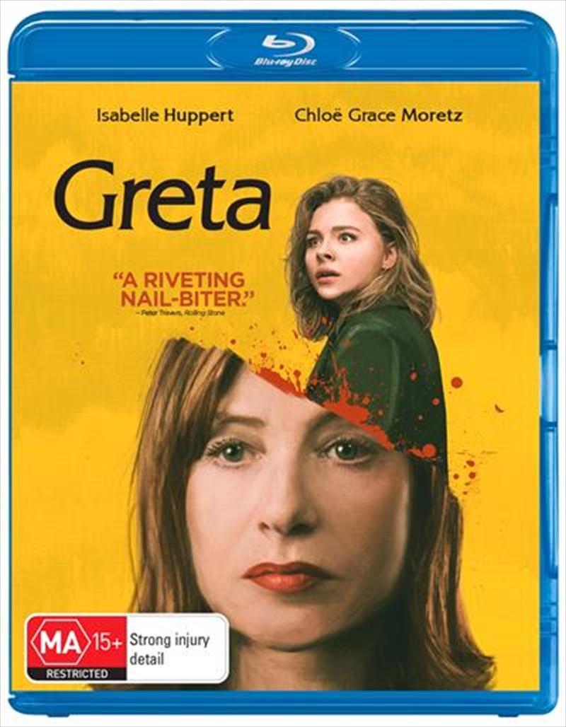 Greta   Blu-ray