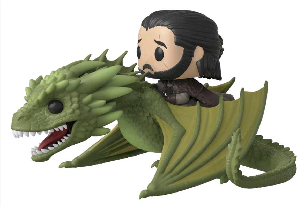 Game of Thrones - Jon Snow on Rhaegal Pop! Ride | Pop Vinyl