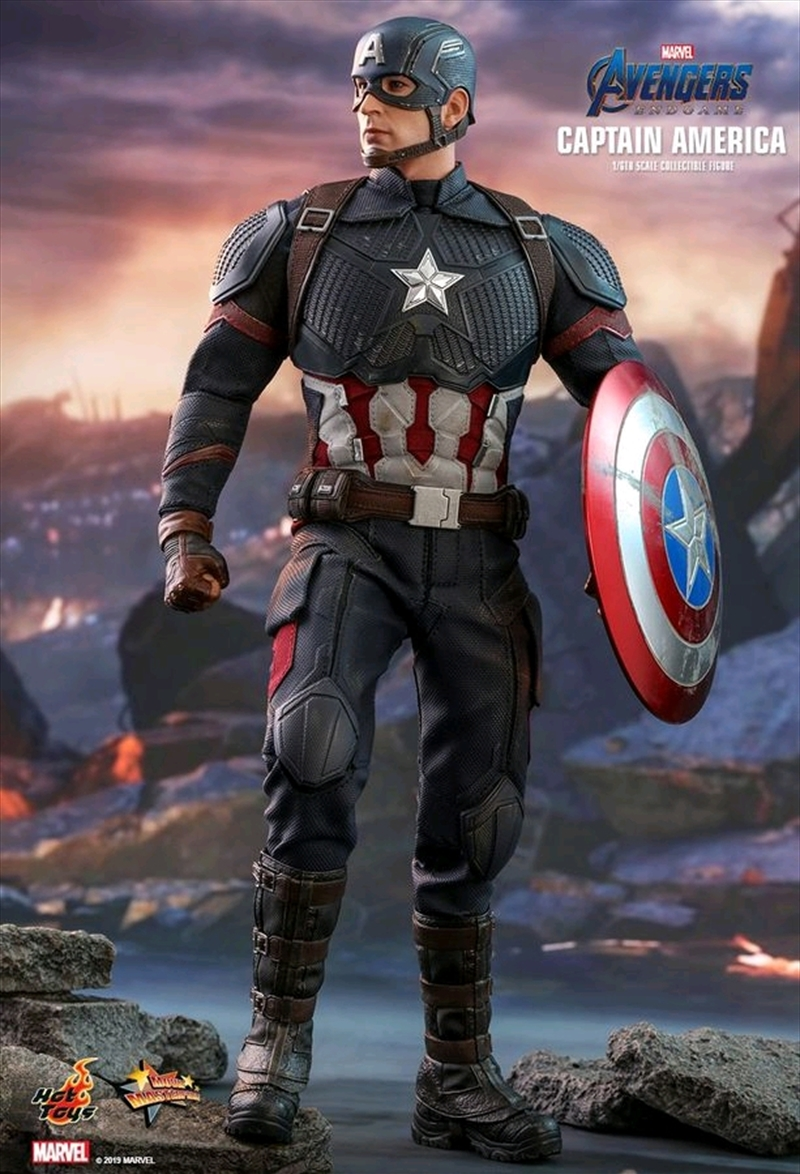 "Avengers 4 - Captain America 12"" 1:6 Scale Action Figure 