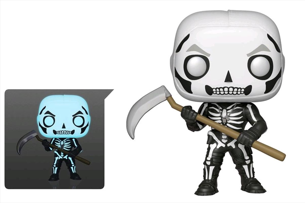 Fortnite - Skull Trooper Glow US Exclusive Pop! Vinyl [RS] | Pop Vinyl