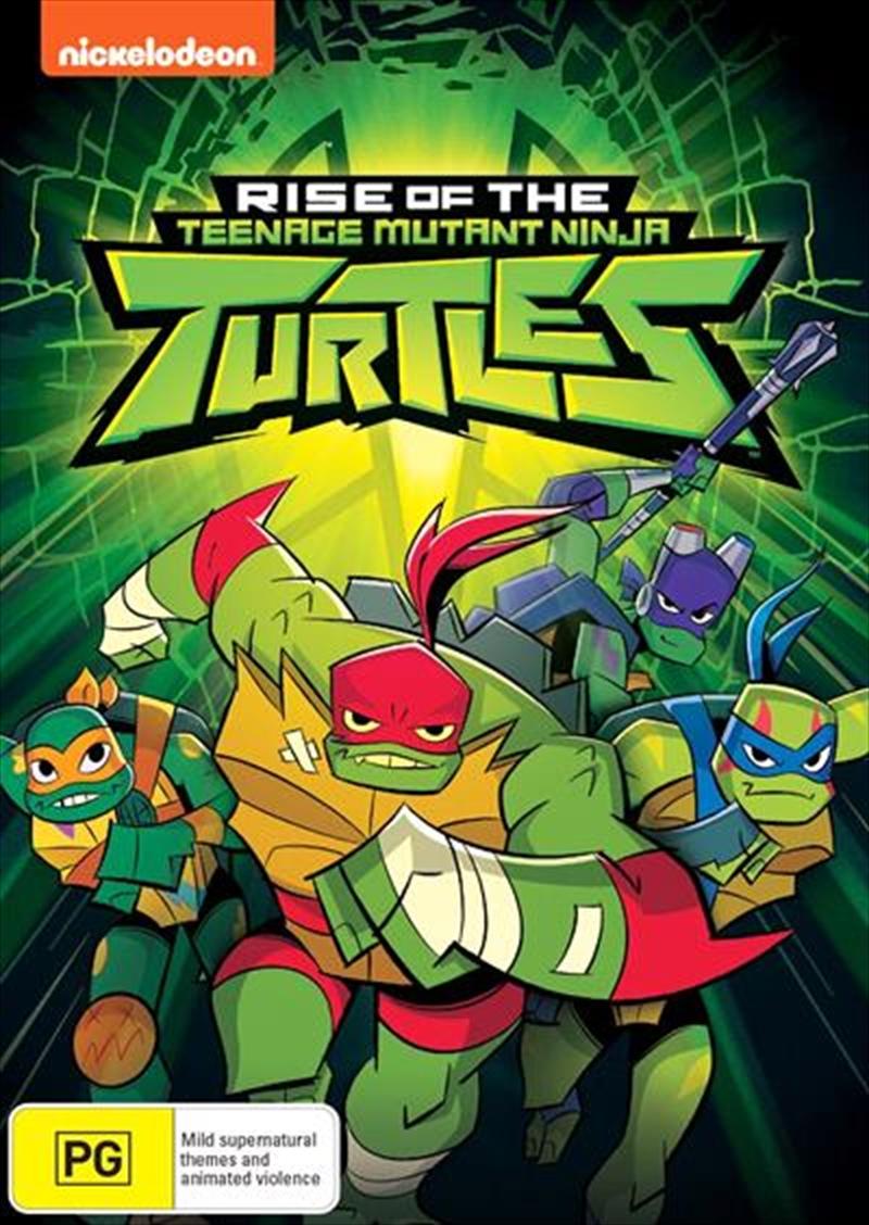 Rise Of The Teenage Mutant Ninja Turtles - Vol 1 | DVD