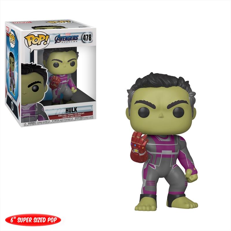"Avengers 4: Endgame - Hulk with Gauntlet 6"" Pop! Vinyl | Pop Vinyl"