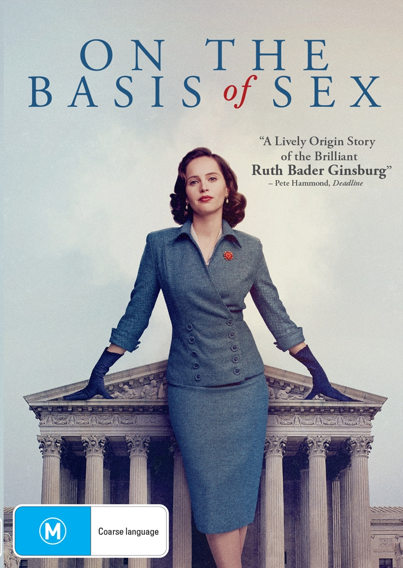 On The Basis Of Sex | DVD