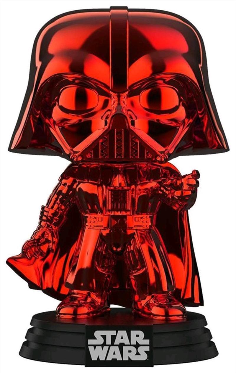 Star Wars - Darth Vader Red Chrome US Exclusive Pop! Vinyl [RS]   Pop Vinyl