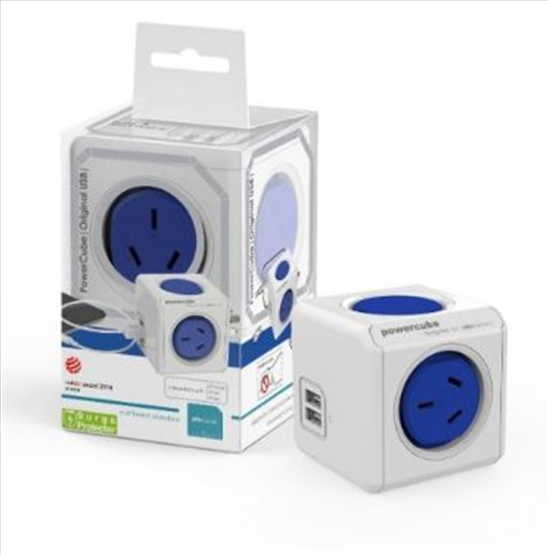 Powercube Original USB Surge - Blue | Accessories