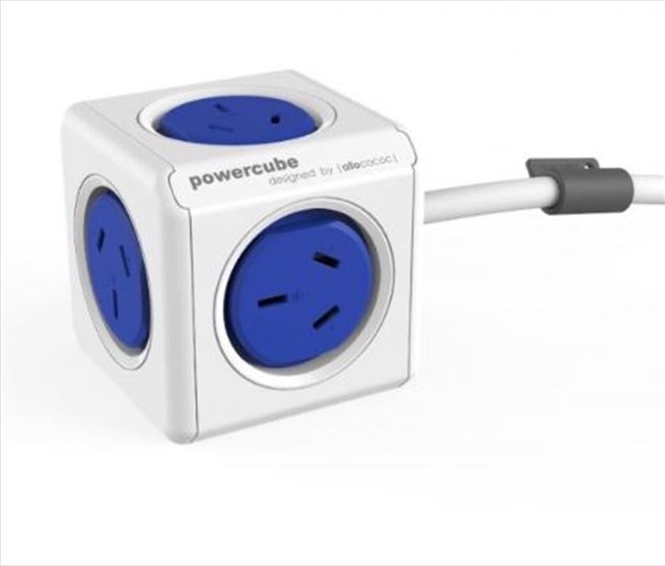 Powercube Extended 1.5m Surge - Blue | Accessories