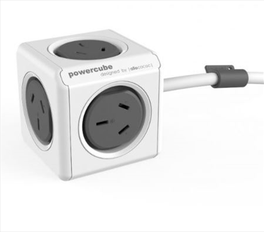Powercube Extended 1.5m Surge - Grey | Accessories