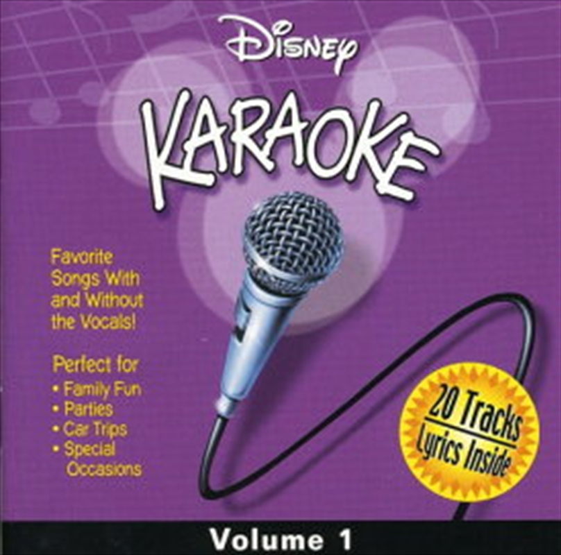 Disney Karaoke - Vol 1 | CD