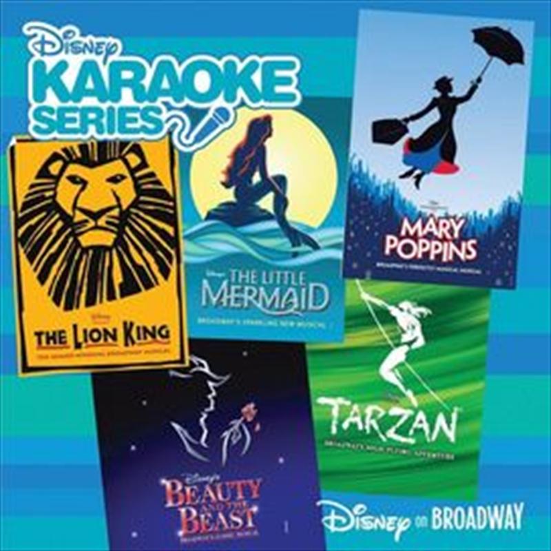 Disneys Karaoke - Disney On Broadway | CD