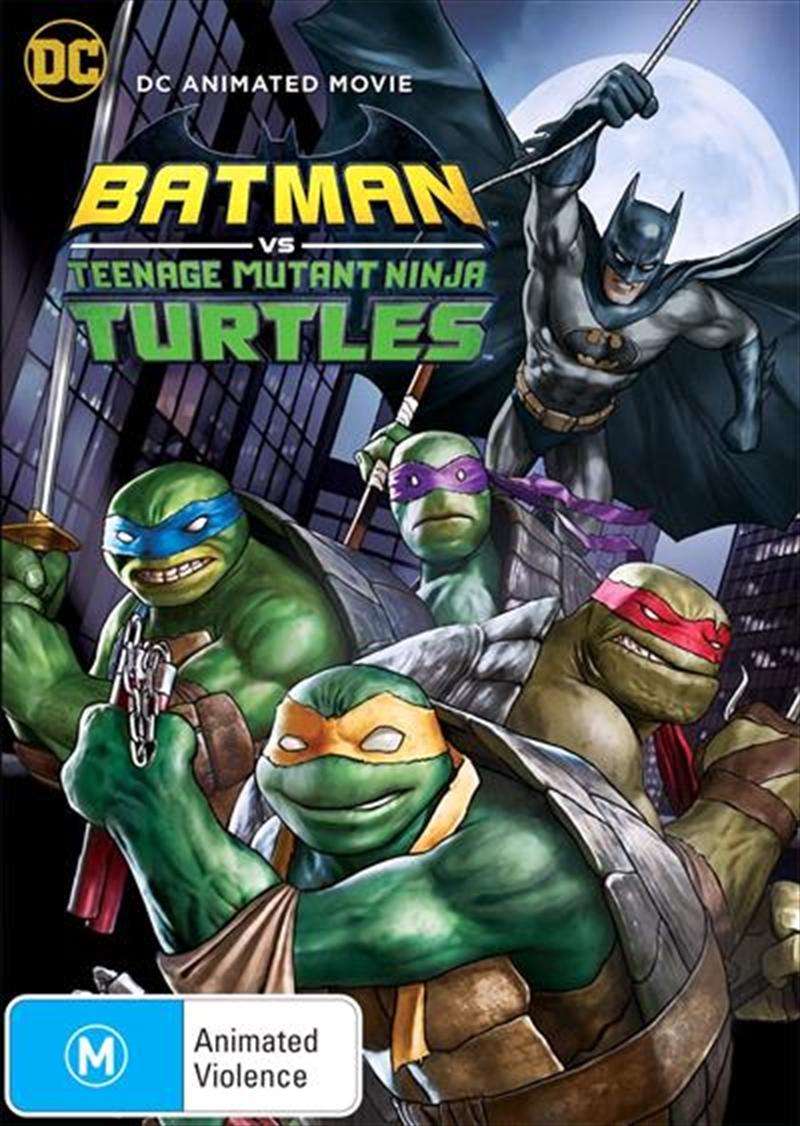 Batman Vs Teenage Mutant Ninja Turtles | DVD