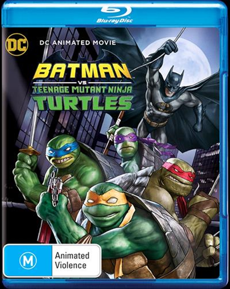 Batman Vs Teenage Mutant Ninja Turtles | Blu-ray