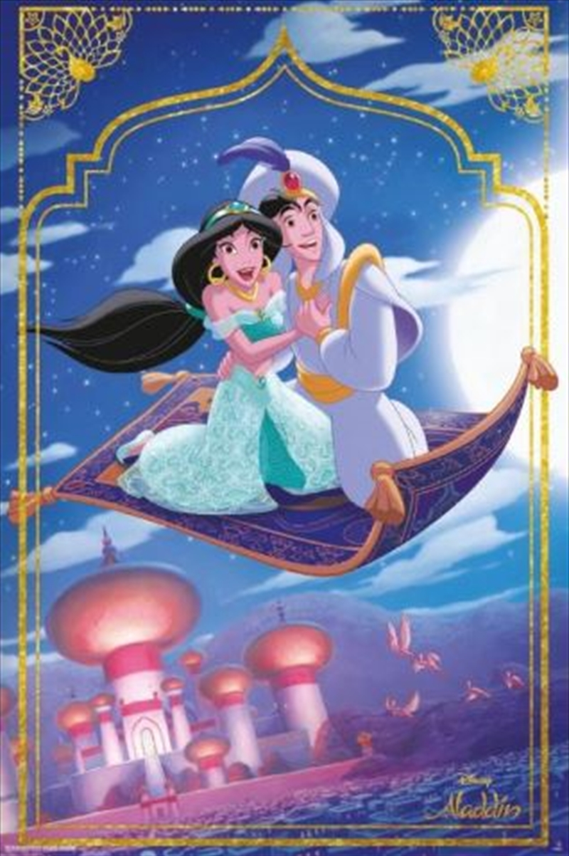 Aladdin Classic - Flying Carpet Poster | Merchandise