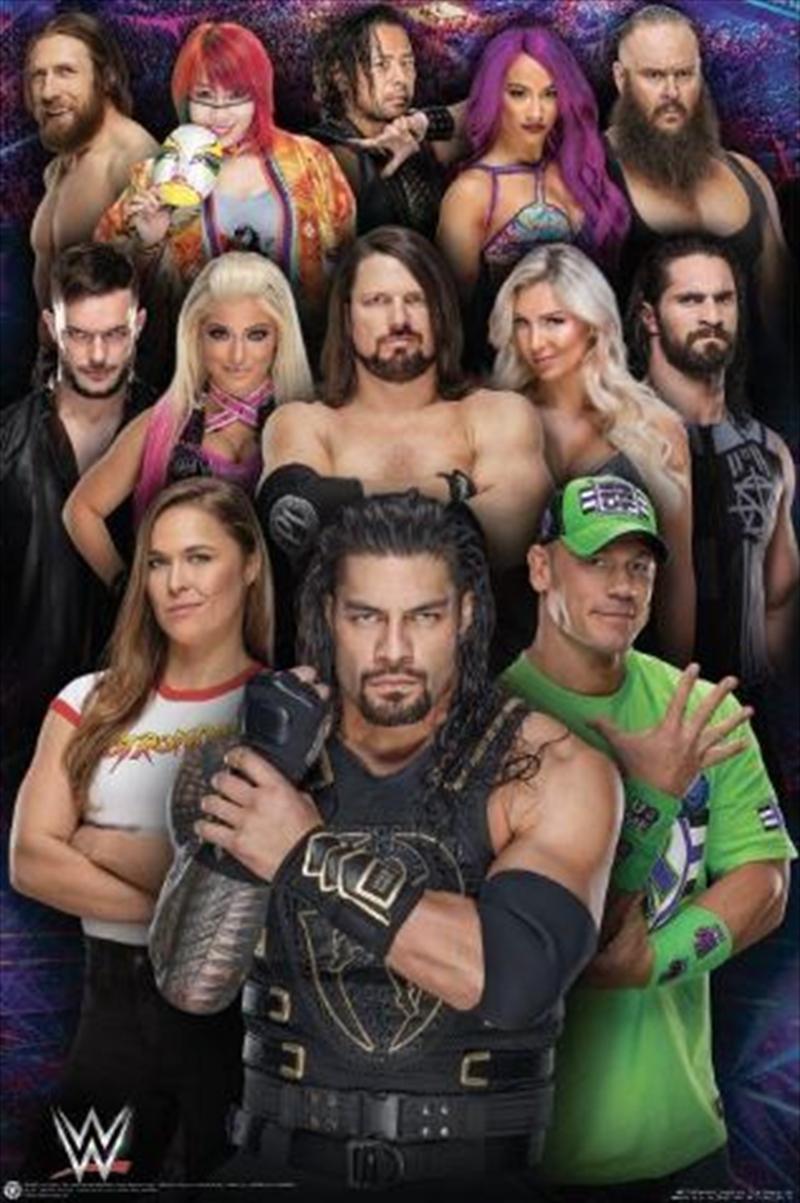 WWE - Superstars 2018 | Merchandise