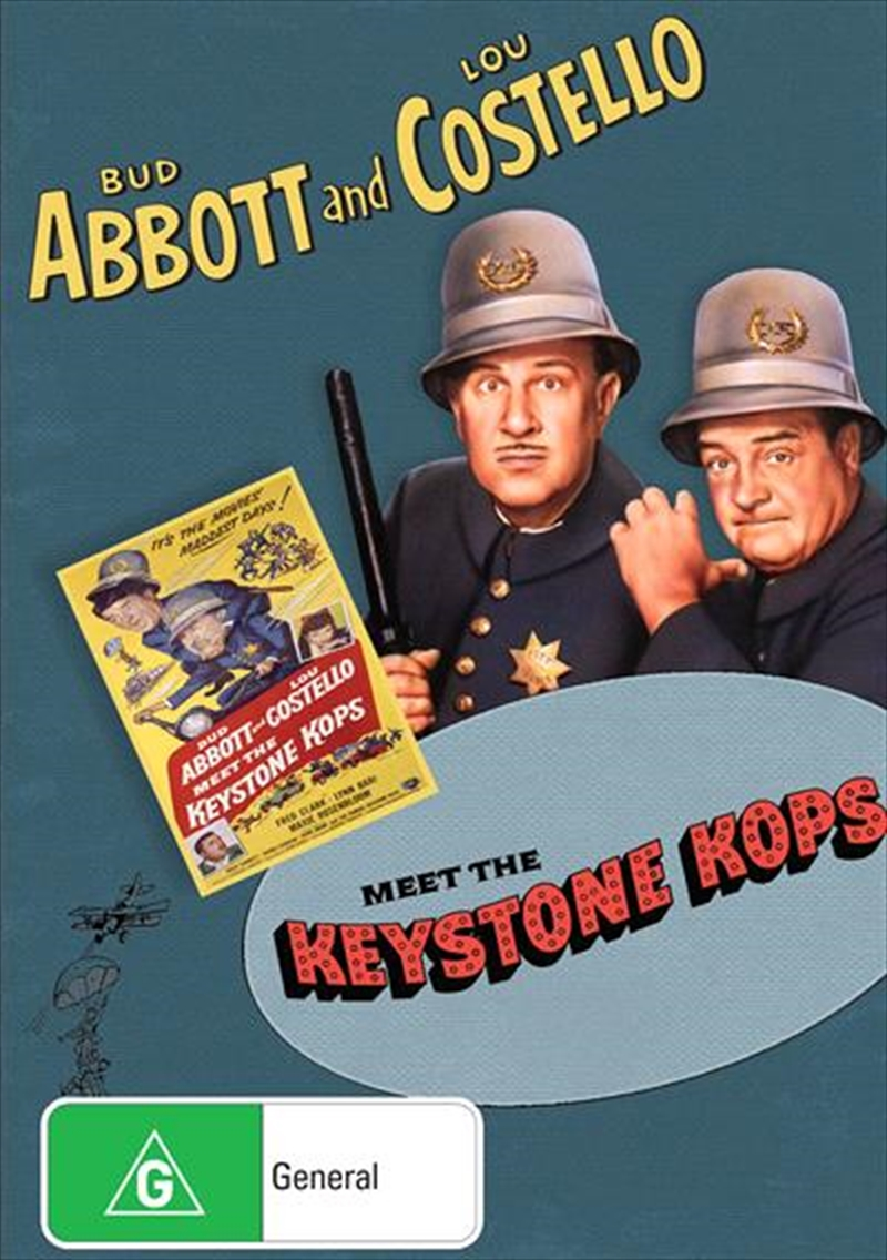 Abbott And Costello Meet The Keystone Kops | DVD