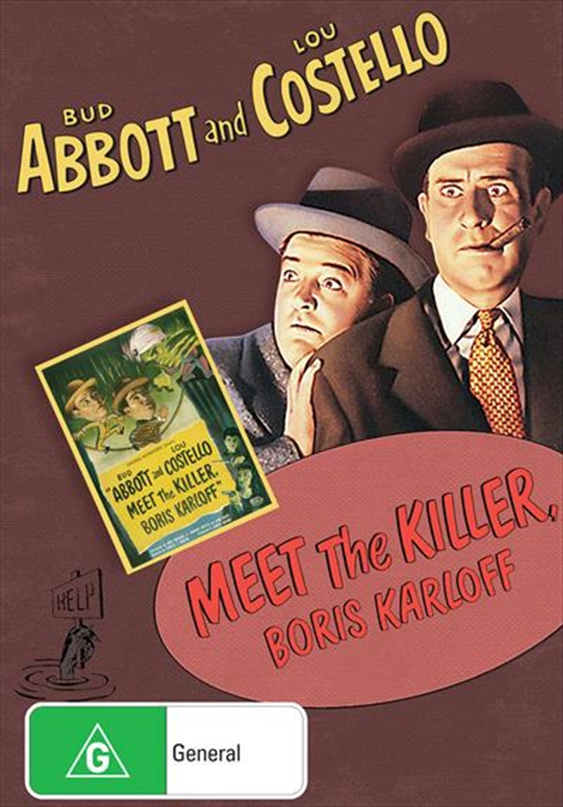 Abbott And Costello Meet The Killer, Boris Karloff | DVD