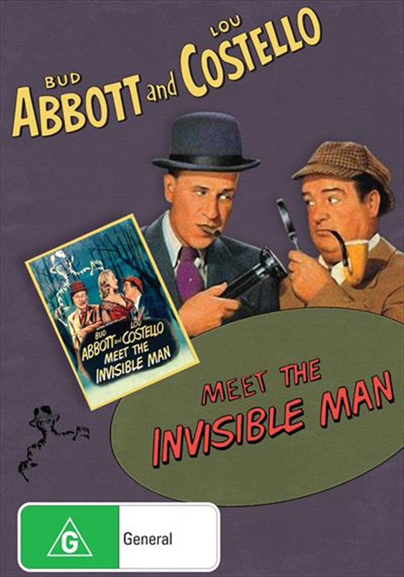 Bud Abbott And Lou Costello Meet The Invisible Man | DVD
